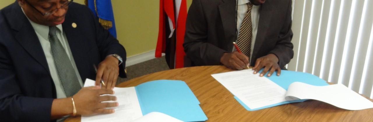 IICA Signing Agreement